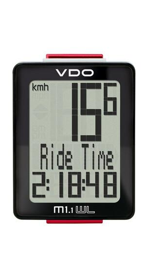 VDO M1.1 WL Licznik rowerowy wyświetlacz czarny